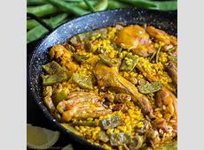 Homemade Paella Valenciana Recipe HappyFoods Tube