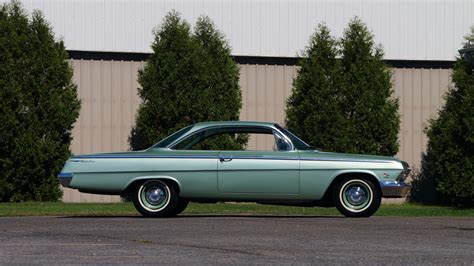 1962 Chevrolet Bel Air Bubble Top 409409 Hp, 4speed