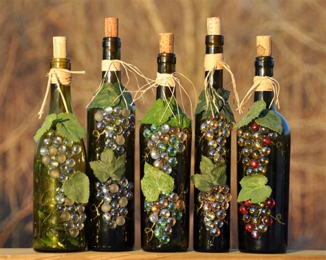 craft ideas for bottles wine bottle crafts pertaining to encourage yugteatr 6132