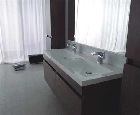 grande vasque salle de bain 2 robinets carrelage salle de bain