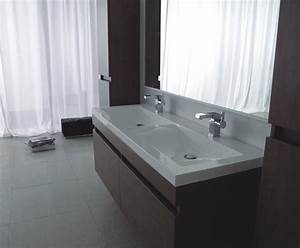Meuble De Salle De Bain Double Vasque : meuble de salle de bain deux vasques giovanna ~ Teatrodelosmanantiales.com Idées de Décoration
