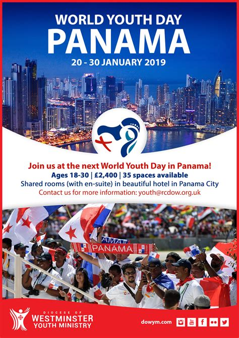 World Youth Day Panama 2019  Diocese Of Westminster Youth