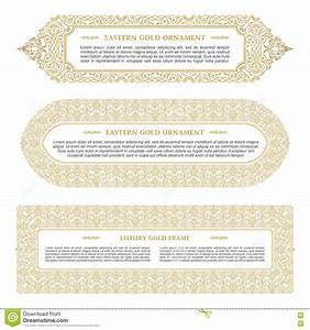 eastern gold arabic vector lines design templates muslim With muslim will template