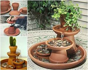 Pots En Terre Cuite Carrefour : creative ideas diy terracotta pot fountain pot en ~ Dailycaller-alerts.com Idées de Décoration