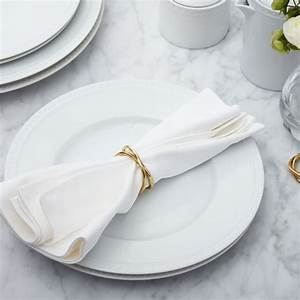Aria Gold Napkin Ring Crate And Barrel