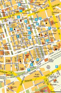 krefeld design map krefeld germany city center central downtown maps and directions at map