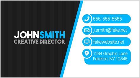modern business card design  inkscape youtube