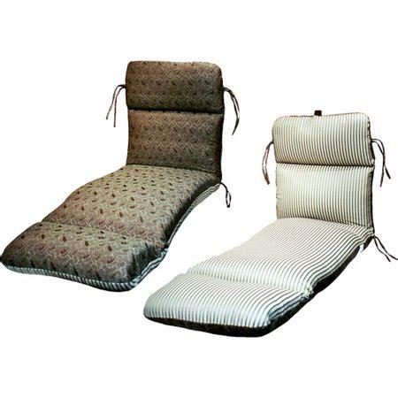 walmart chaise lounge cushions mazoni mint reversible chaise lounge cushion walmart