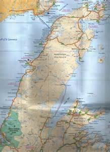 Northwestern Map of Newfoundland