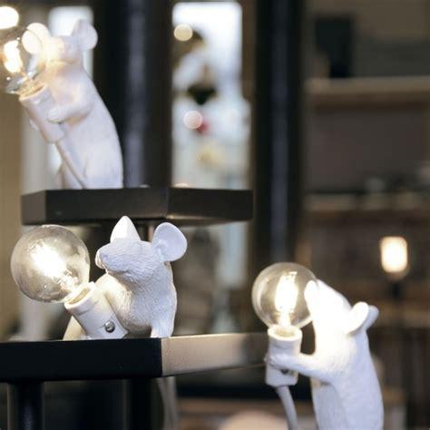 lampe souris debout seletti