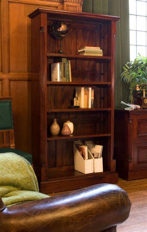 La Roque Tall Open Mahogany Bookcase Was £720.00 Now £575