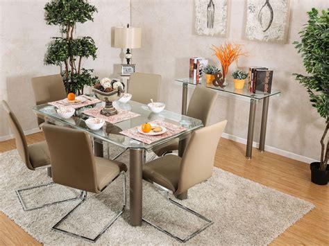 Walkerville I Champagne Rectangular Dining Room Set From