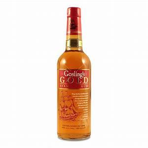 Gosling's Gold Seal Bermuda Rum 0.7L (40% Vol.) - Gosling ...