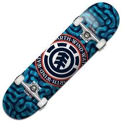element skateboards braincells complete skateboard 7 75