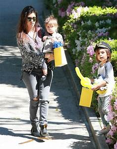 Penelope Disick Pictures - Kourtney Kardashian & Kids At A ...