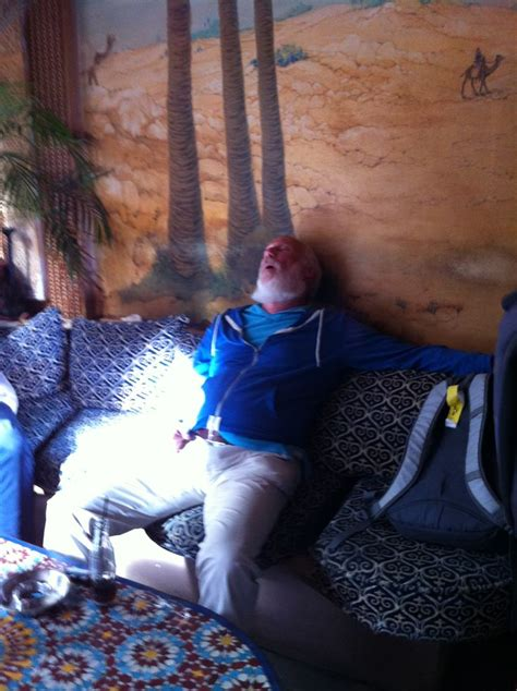 Knocked Out Old Man Passed Out In Stones Cafe In