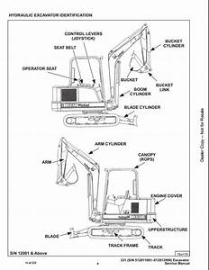 Bobcat X331 Mini Excavator Service Repair Workshop Manual 512911001