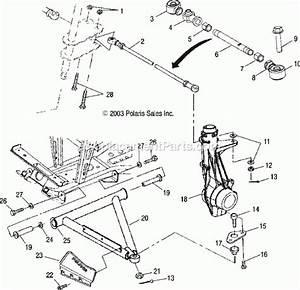 2004 Polaris Ranger 500 Parts Diagram