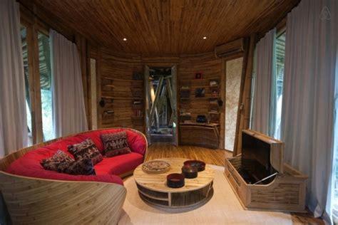 amazing bamboo house bb  bali adorable home