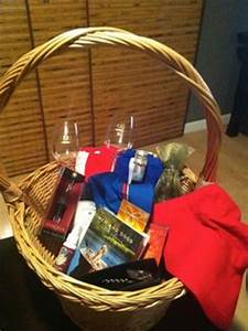 Staycation basket good idea for a t or charity