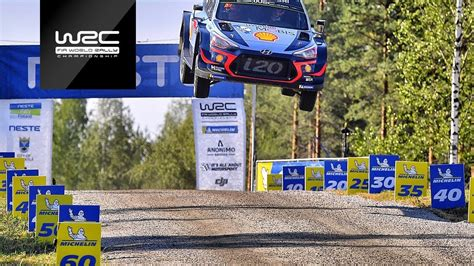 wrc neste rally finland  highlights stages