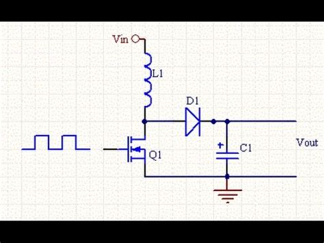 simple    dc boost converter circuit youtube