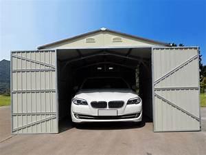 Garage En Bois 20m2 : garage m tal nevada avec porte battante 64228 ~ Dailycaller-alerts.com Idées de Décoration