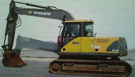 volvo ec160 cat service manuals auto repair manuals factory service manualcat excavator