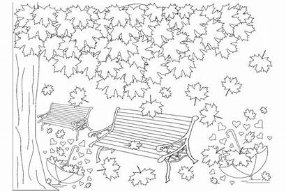 Coloring Fall Autumn Printable 30seconds Tip Mom