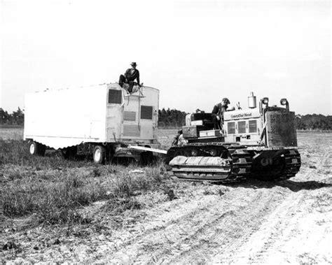 florida memory caterpillar tractor pulls  circus animal
