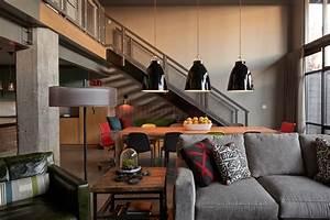 Wohnzimmer Industrial Style : loft industrial wohnzimmer kansas city von lisa schmitz interior design ~ Whattoseeinmadrid.com Haus und Dekorationen