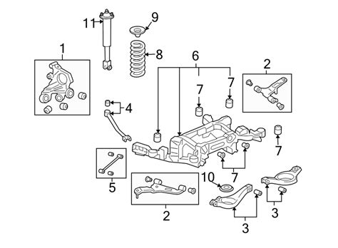 1996 Cadillac Rear Suspension Diagram by 21998206 Cadillac Shock Absorber Cts W Sport Susp Cts