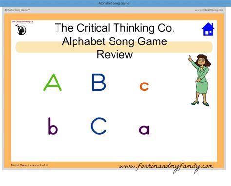 The Critical Thinking Co #hsreviews  For Him And My Family