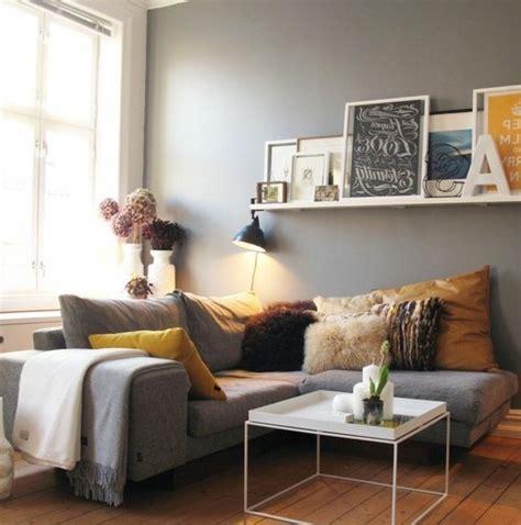 idee deco salon canapé gris déco salon gris 88 idées pleines de charme