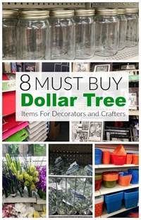 items  buy   dollar store  decorators