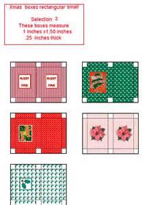 Free Dollhouse Miniature Printable Boxes