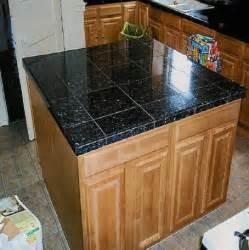 kitchen countertop tile design ideas tile countertops black granite tile counter top 4