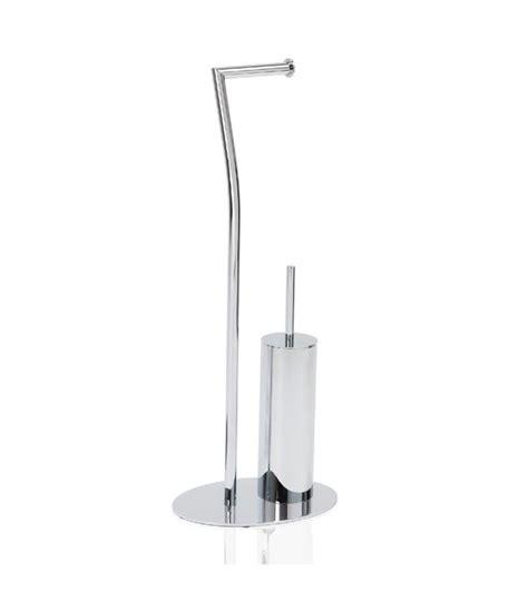 support papier toilette brosse wc en inox chrom 233 courb 233 wadiga