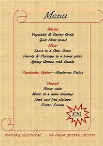 epiacum epiacum twitter With roman menu template