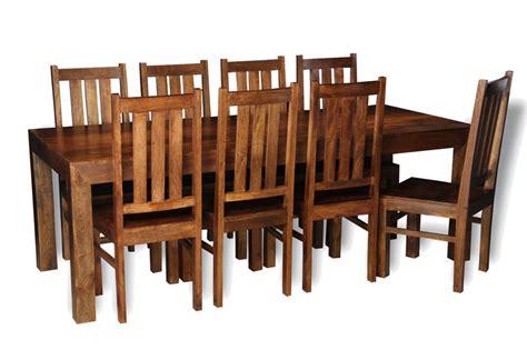 table and 8 chairs dakota 220cm dining table 8 dakota chairs trade
