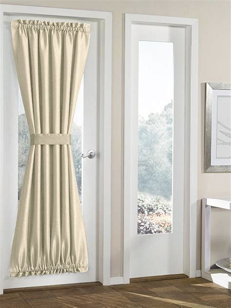 decorating french door curtains  cute interior home