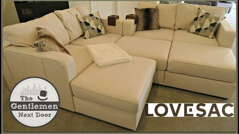 lovesac reviews sactional lovesac sactionals unboxing assembling review the