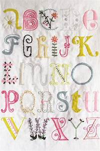 Hand embroidery alphabet wwwpixsharkcom images for Embroidered alphabet letters