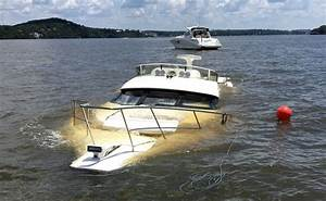 Boaters Beware: 45-Foot Cruiser Still Submerged, Marked ...
