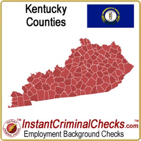 Kentucky Background Check Kentucky County Criminal Background Checks Ky Court
