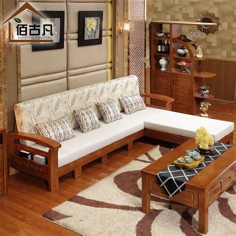 créer canapé en ligne bois massif canapé salon sectionnel expansion tissu