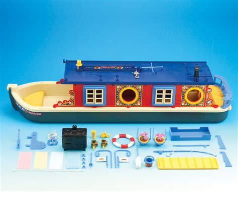 Sylvanian Families Canal Boat by Buy Grace Waterside Canal Boat Sylvanian Families