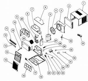 Carrier Air Conditioner Parts Diagram