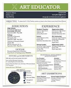 A Resume For The Modern Art Teacher