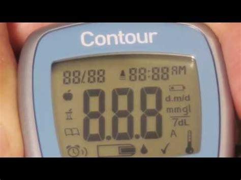 bayer contour blood glucose meter tutorial doovi